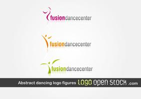 Abstract Dancing Logo