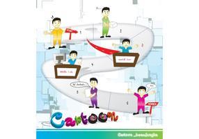 Cartoon_Beaujungka Vectors