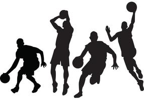 Basketball Players Vectors