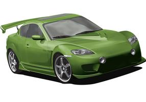 Mazda RX8 - meshing it up