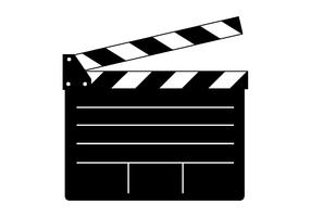 Clapper Board Vector for Movie or Film