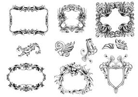 Victorian Frames Vector Pack