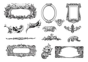 Decorative Frames Vector Pack