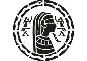 Egyptian Mosaic Vector
