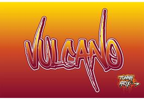 VULCANO Graffiti Vector - design Tommy Brix
