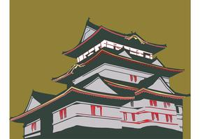 Japanese House Vector