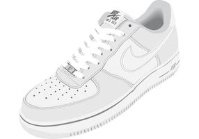 Nike Air Shoes Vector