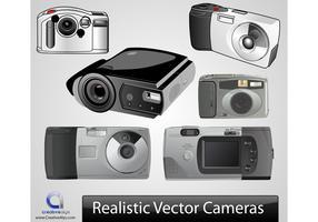 Realistische Vektor-Kameras