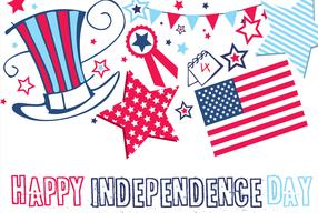Happy Independence Day Wallpaper and Vector Pack