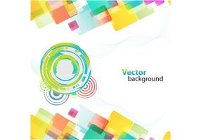 Colorful Background With Different Shapes