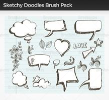Sketchy Doodle Vector Pack