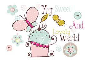 My Sweet World Craft Vectors