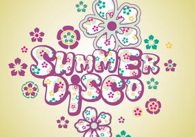 Summer Disco Vector Pack