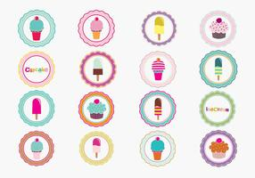Sweet Tags Vector Pack