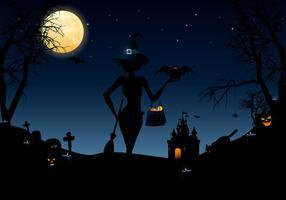 Halloween Nights Vector Pack