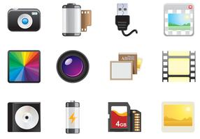 Photo Icons Vector Pack