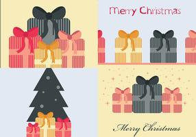 Christmas Present Vector Wallpaper Pack