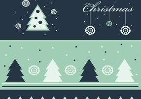 Green Christmas Wallpaper and Vector Pack