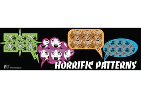 Horrific Pattern Vectors
