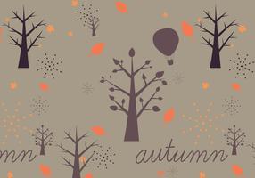 Autumn Vector Pattern