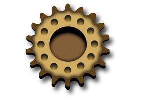 Cog Gear Vector