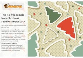 Free Christmas Seamless Pattern