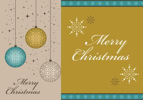 Merry Christmas Vector Wallpaper and Border Pack