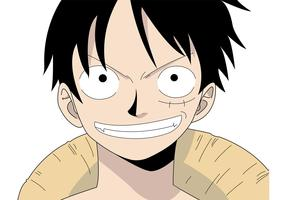 Monkey D. Luffy Vector