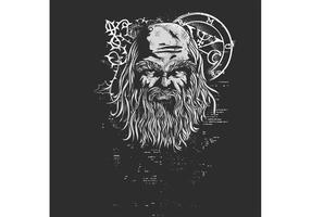 Weekly Freebie #4: Old Man Vector T-shirt Design