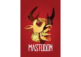 Mastodon - the hunter Vector