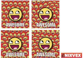 NixVex Awesome Meme Free Vector