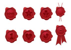 Wax Seals Vector Pack