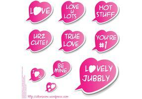 Valentine Sticker Set