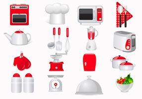Cooking Icon Vector Pack