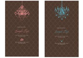 Invitation Template - Elegant Invitation Vector