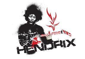 Jimmy Hendrix Vector Fire