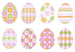 Funky Easter Egg Vector Pack