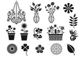Spring Floral Vector Pack