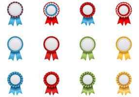 Award Ribbon Vector Pack