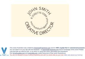 Template Creative B-Card