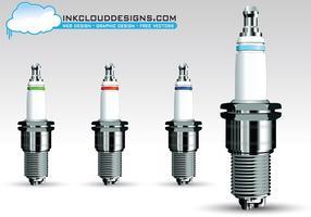 Spark Plug Vector Pack
