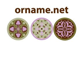 Free Ornament Vector Rosettes