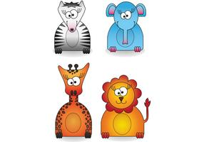 Zoo Animal Vector Pack