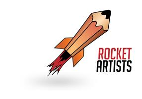 Rocket Artists - Rocket Logo Vector