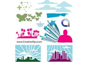 Elements for Logo, Web & Graphic Design