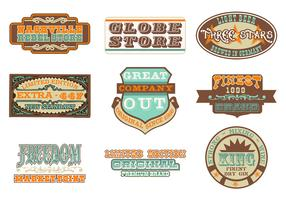 Retro Advertising Vector Pack