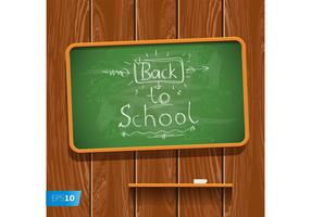 Chalk Board Vector