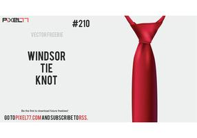 Free Vector of the Day #210: Windsor Tie Knot