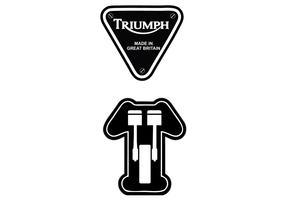 Triumph Motorcycle Logo Vector