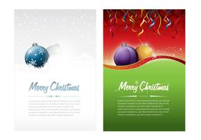 Christmas Card Vector or Flyer